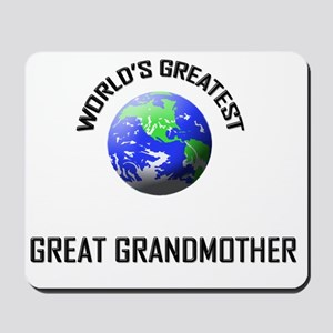 GREAT-GRANDMOTHER Mousepad