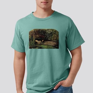 millais-ophelia_12x8 Mens Comfort Colors Shirt