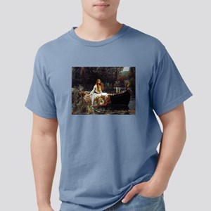 The Lady Of Shalott Mens Comfort Colors Shirt