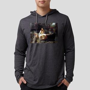 The Lady Of Shalott Mens Hooded Shirt