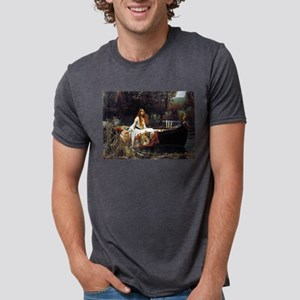 The Lady Of Shalott Mens Tri-blend T-Shirt