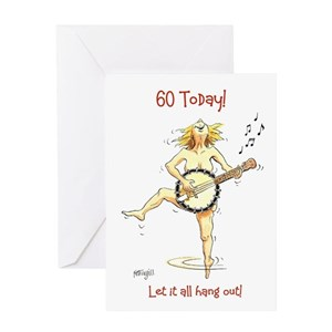 Funny 60th Birthday Greeting Cards