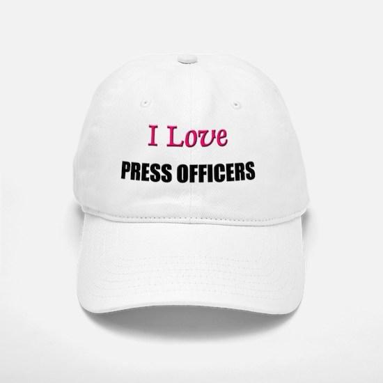 PRESS-OFFICERS16 Baseball Baseball Cap