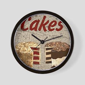 Cakes Wall Clock
