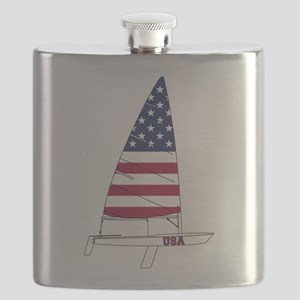 American Dinghy Sailing Flask