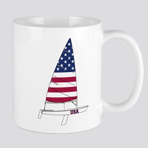 American Dinghy Sailing Mug