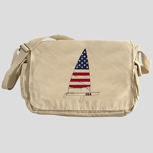 American Dinghy Sailing Messenger Bag