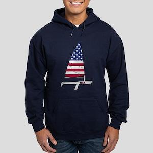 American Dinghy Sailing Hoodie (dark)