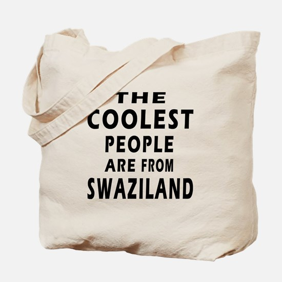 The Coolest Swaziland Designs Tote Bag