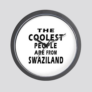The Coolest Swaziland Designs Wall Clock