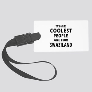 The Coolest Swaziland Designs Large Luggage Tag
