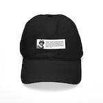 Patton Quote - Battle Black Cap