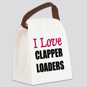 CLAPPER-LOADERS93 Canvas Lunch Bag