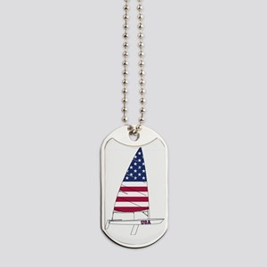 American Dinghy Sailing Dog Tags