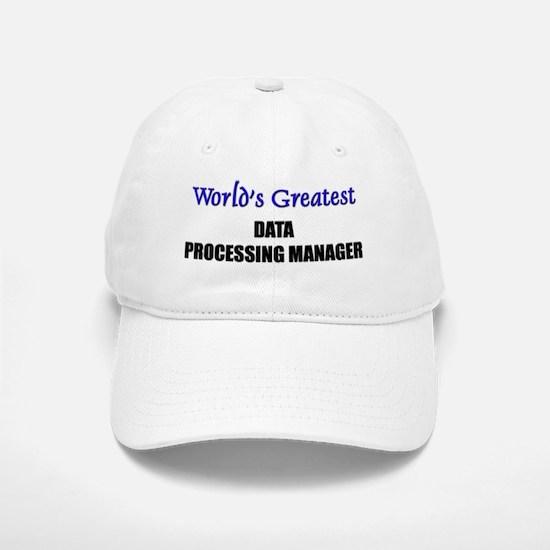 DATA-PROCESSING-MANA0 Baseball Baseball Cap