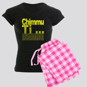 Chimmu Ti ... Women's Dark Pajamas