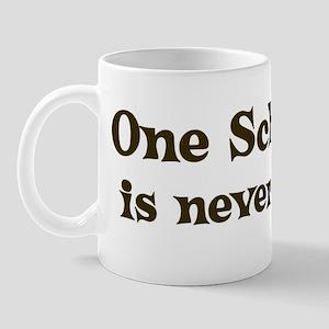 One Schnoodle Mug