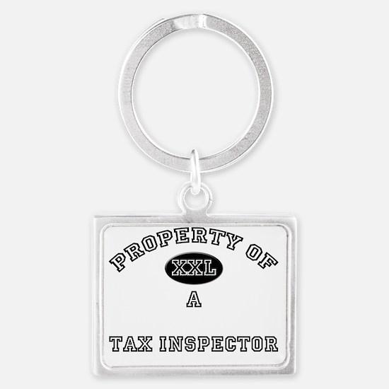 Tax-Inspector80 Landscape Keychain