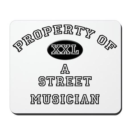3-Street-Musician51 Mousepad