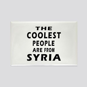The Coolest Syria Designs Rectangle Magnet