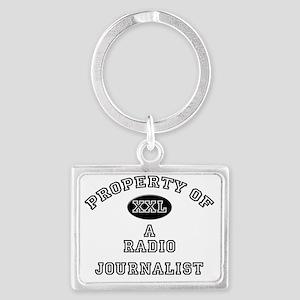 Radio-Journalist55 Landscape Keychain