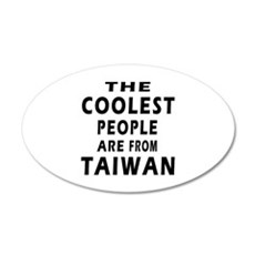 The Coolest Taiwan Designs Wall Decal