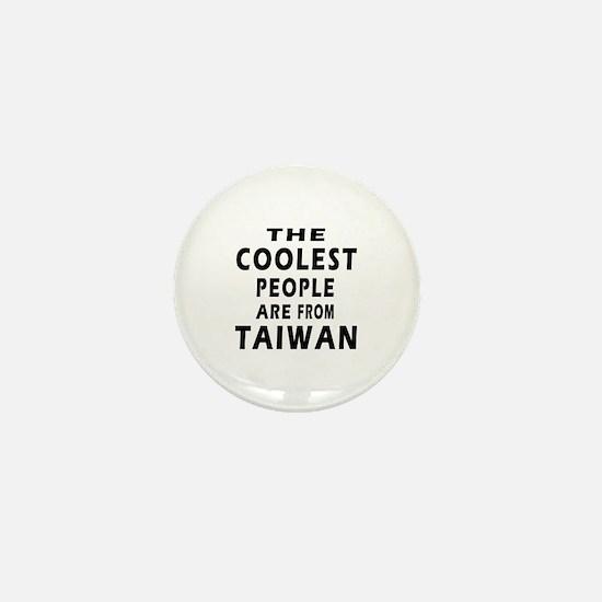 The Coolest Taiwan Designs Mini Button