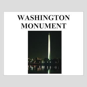 washington monument Small Poster