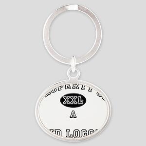 Mud-Logger75 Oval Keychain