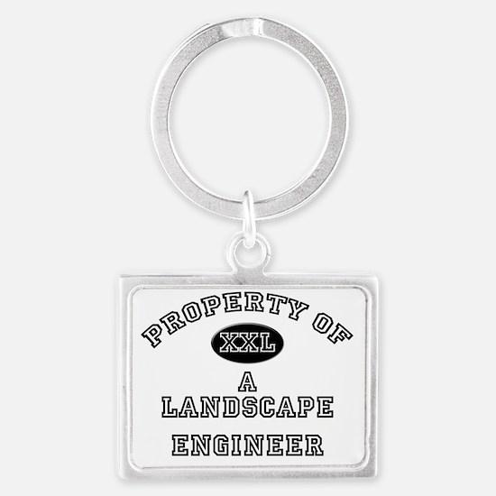 Landscape-Engineer89 Landscape Keychain
