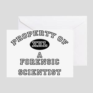 Forensic-Scientist149 Greeting Card