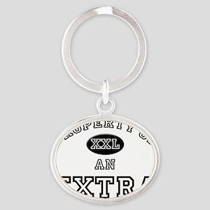 Extra118 Oval Keychain