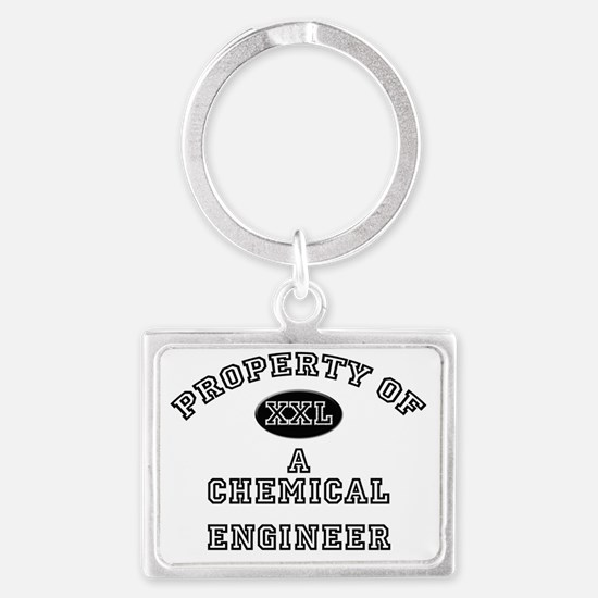 Chemical-Engineer109 Landscape Keychain