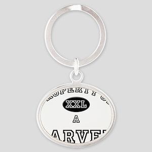 Carver120 Oval Keychain