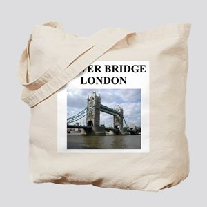 tower bridge london gifts and Tote Bag
