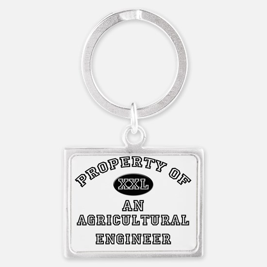 Agricultural-Enginee138 Landscape Keychain