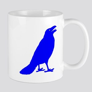 Blue Crow Small Mug
