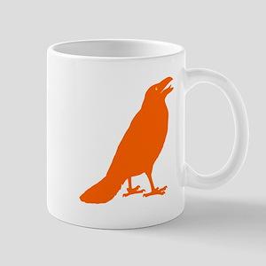 Orange Crow Small Mug