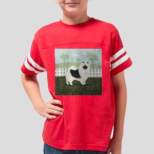 countrykeeshondwallclock2 Youth Football Shirt