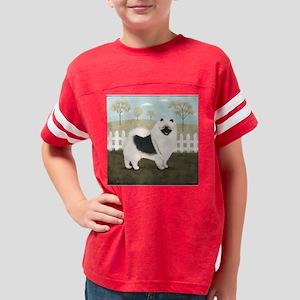 countrykeeshondpillow Youth Football Shirt