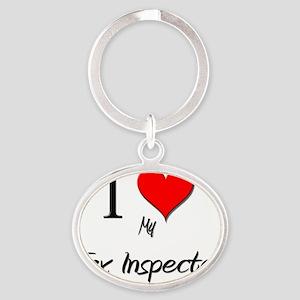 Tax-Inspector119 Oval Keychain