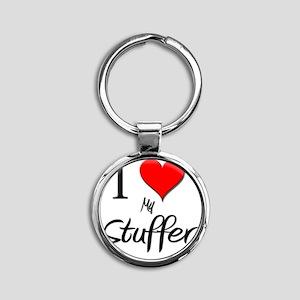 Stuffer51 Round Keychain