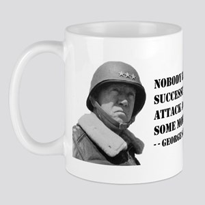 Patton Quote - Attack Mug