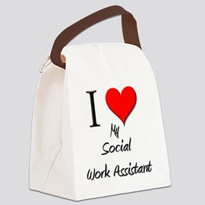 3-Social-Work-Assistan27 Canvas Lunch Bag