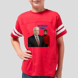 mccain train clear Youth Football Shirt