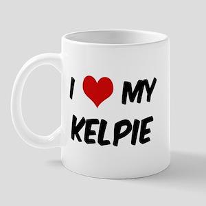 I Love: Kelpie Mug