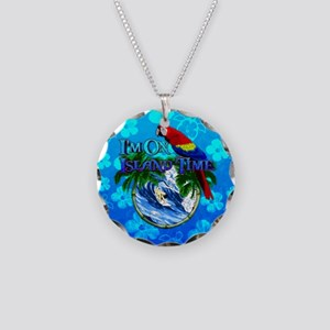 Island Time Surfer Honu Necklace