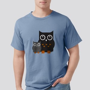 Owls (1) Mens Comfort Colors Shirt