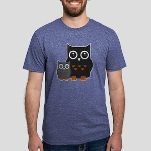 Owls (1) Mens Tri-blend T-Shirt