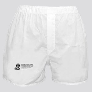 Patton Quote - Die Boxer Shorts